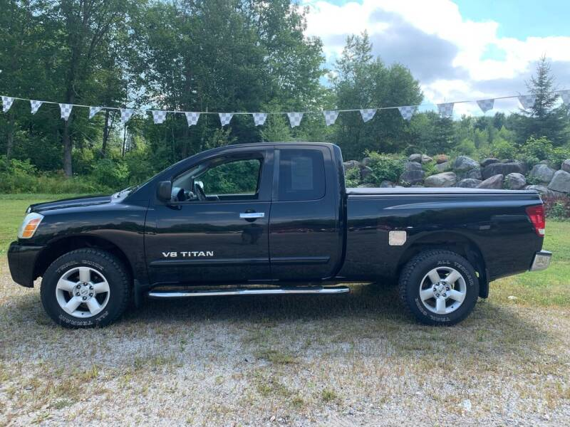 2007 Nissan Titan for sale at Hart's Classics Inc in Oxford ME