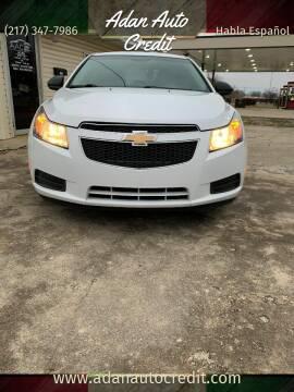 2011 Chevrolet Cruze for sale at Adan Auto Credit in Effingham IL