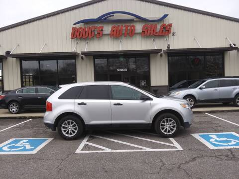2013 Ford Edge for sale at DOUG'S AUTO SALES INC in Pleasant View TN