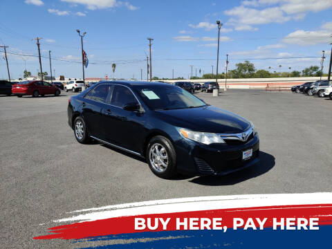 2014 Toyota Camry for sale at Mid Valley Motors in La Feria TX
