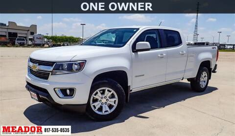 2018 Chevrolet Colorado for sale at Meador Dodge Chrysler Jeep RAM in Fort Worth TX