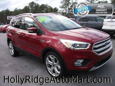 2017 Ford Escape for sale at Holly Ridge Auto Mart in Holly Ridge NC
