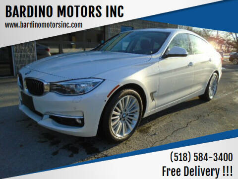 2015 BMW 3 Series for sale at BARDINO MOTORS INC in Saratoga Springs NY