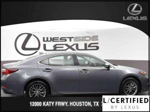 2018 Lexus ES 350 for sale at LEXUS in Houston TX