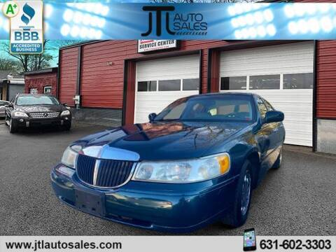 1999 Lincoln Town Car for sale at JTL Auto Inc in Selden NY