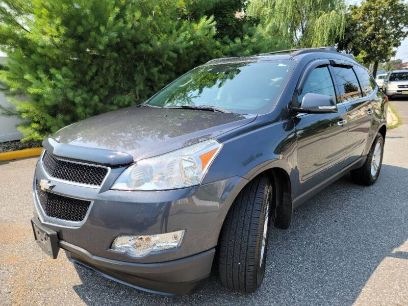 2012 Chevrolet Traverse for sale at Giordano Auto Sales in Hasbrouck Heights NJ
