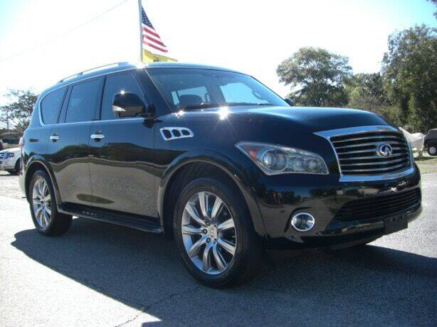 2011 Infiniti QX56 for sale at Manquen Automotive in Simpsonville SC