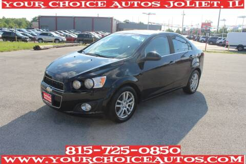 2012 Chevrolet Sonic for sale at Your Choice Autos - Joliet in Joliet IL