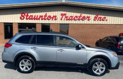 2013 Subaru Outback for sale at STAUNTON TRACTOR INC in Staunton VA