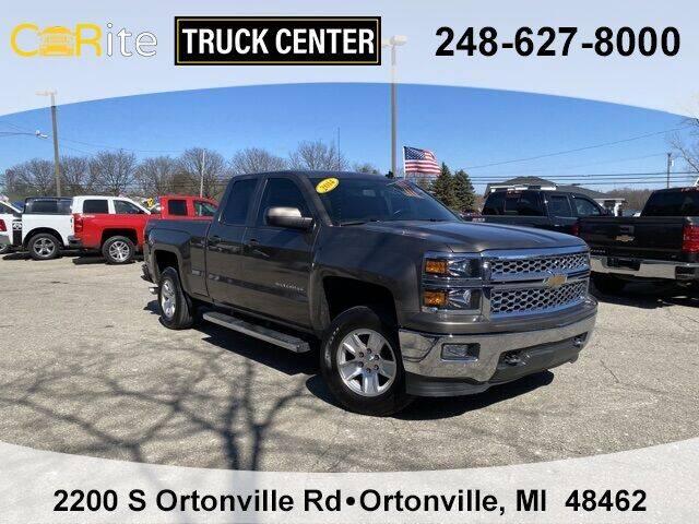 2014 Chevrolet Silverado 1500 for sale at Carite Truck Center in Ortonville MI