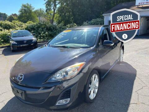 2010 Mazda MAZDA3 for sale at VERNON MOTOR CARS in Vernon Rockville CT