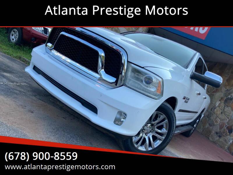 2014 RAM Ram Pickup 1500 for sale at Atlanta Prestige Motors in Decatur GA