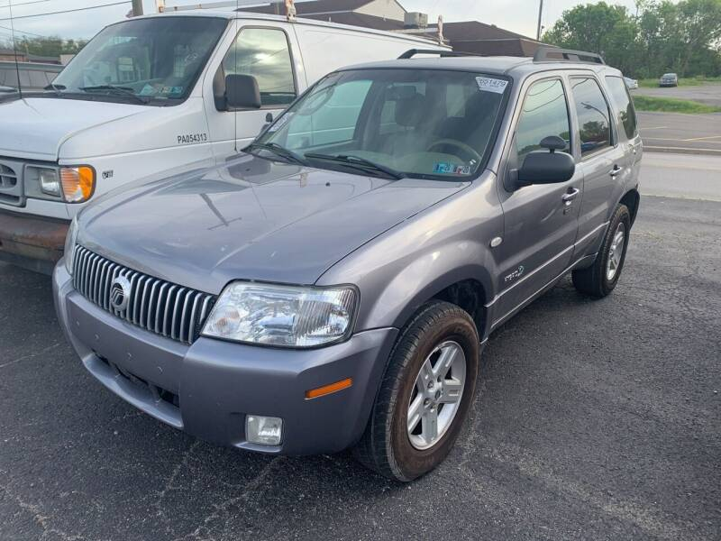 2007 Mercury Mariner Hybrid for sale at Trocci's Auto Sales in West Pittsburg PA