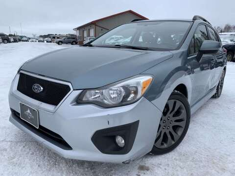 2012 Subaru Impreza for sale at LUXURY IMPORTS in Hermantown MN