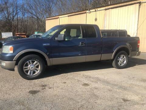 2004 Ford F-150 for sale at Monroe Auto's, LLC in Parsons TN