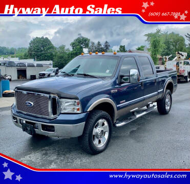 2007 Ford F-350 Super Duty for sale at Hyway Auto Sales in Lumberton NJ