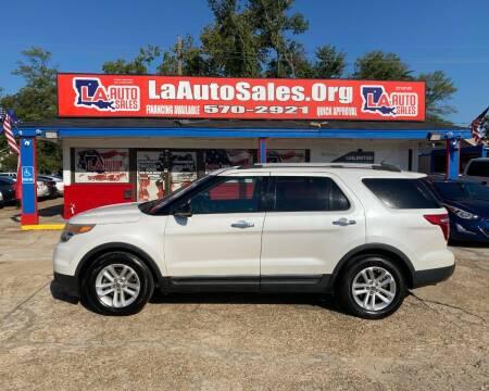 2011 Ford Explorer for sale at LA Auto Sales in Monroe LA