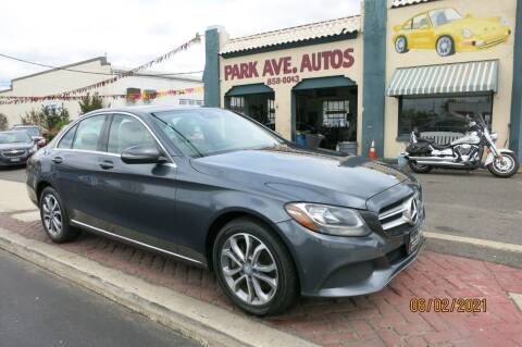2016 Mercedes-Benz C-Class for sale at PARK AVENUE AUTOS in Collingswood NJ