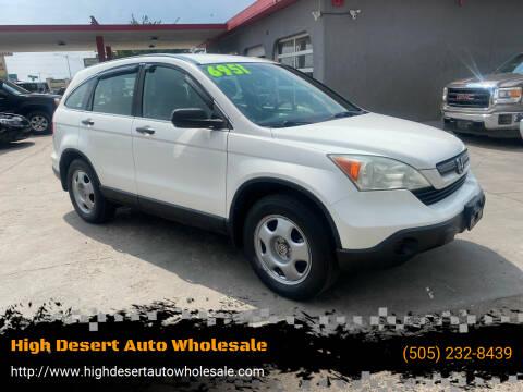 2009 Honda CR-V for sale at High Desert Auto Wholesale in Albuquerque NM