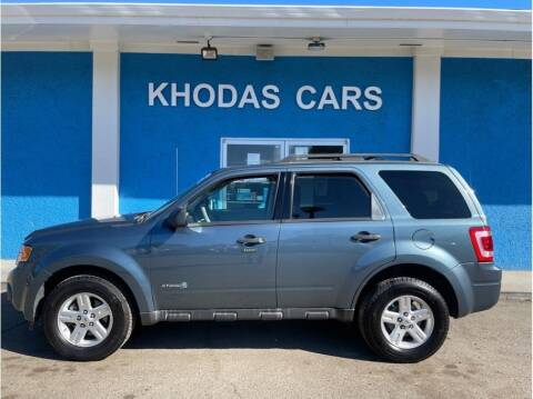 2011 Ford Escape Hybrid for sale at Khodas Cars in Gilroy CA