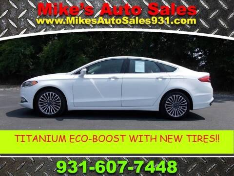 2018 Ford Fusion for sale at Mike's Auto Sales in Shelbyville TN