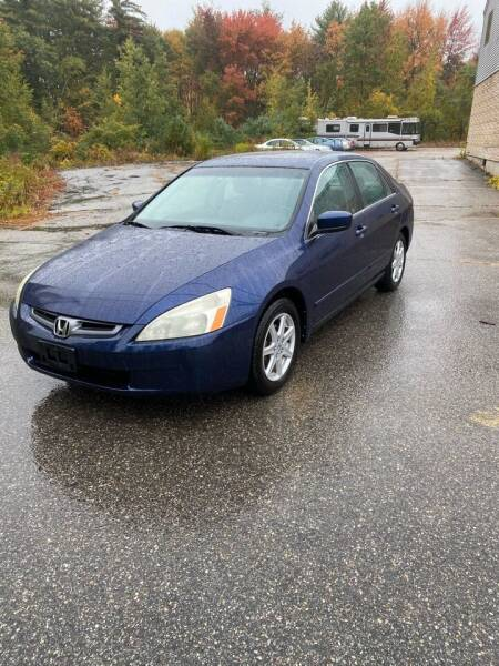 2004 Honda Accord for sale at Cars R Us Of Kingston in Kingston NH