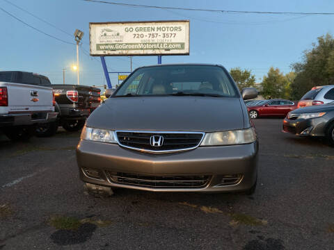 2004 Honda Odyssey for sale at GO GREEN MOTORS in Lakewood CO