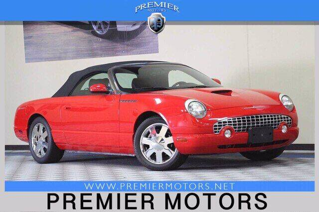 2002 Ford Thunderbird for sale at Premier Motors in Hayward CA