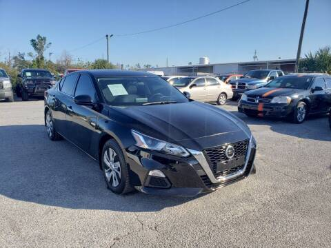 2019 Nissan Altima for sale at Jamrock Auto Sales of Panama City in Panama City FL