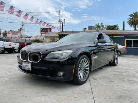 2012 BMW 7 Series for sale at Good Vibes Auto Sales in North Hollywood CA