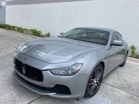 2015 Maserati Ghibli for sale at Auto Beast in Fort Lauderdale FL