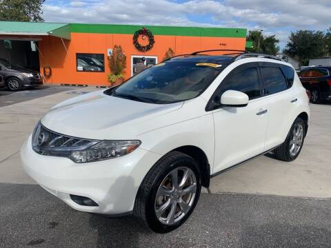2012 Nissan Murano for sale at Galaxy Auto Service, Inc. in Orlando FL