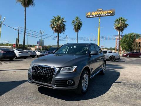 2013 Audi Q5 for sale at A MOTORS SALES AND FINANCE - 5630 San Pedro Ave in San Antonio TX