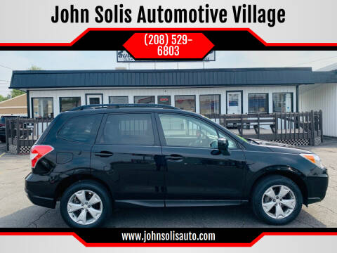 2016 Subaru Forester for sale at John Solis Automotive Village in Idaho Falls ID
