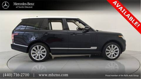 2016 Land Rover Range Rover for sale at Mercedes-Benz of North Olmsted in North Olmsted OH