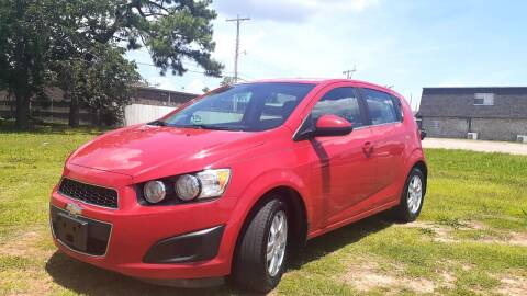 2013 Chevrolet Sonic for sale at Automay Car Sales in Oklahoma City OK