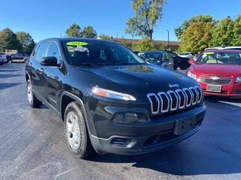 2017 Jeep Cherokee for sale at Newcombs Auto Sales in Auburn Hills MI