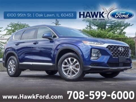 2020 Hyundai Santa Fe for sale at Hawk Ford of Oak Lawn in Oak Lawn IL