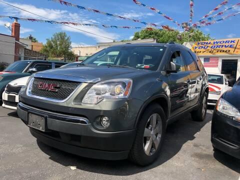 2011 GMC Acadia for sale at Cypress Motors of Ridgewood in Ridgewood NY