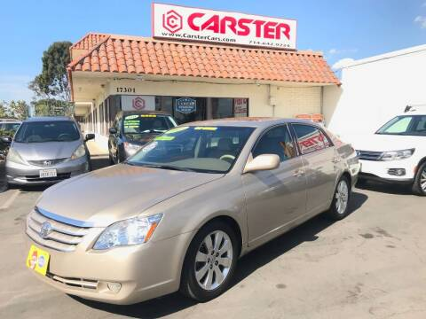 2007 Toyota Avalon for sale at CARSTER in Huntington Beach CA