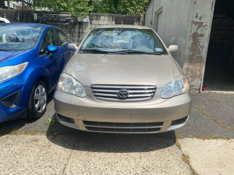 2004 Toyota Corolla for sale at Big Time Auto Sales in Vauxhall NJ