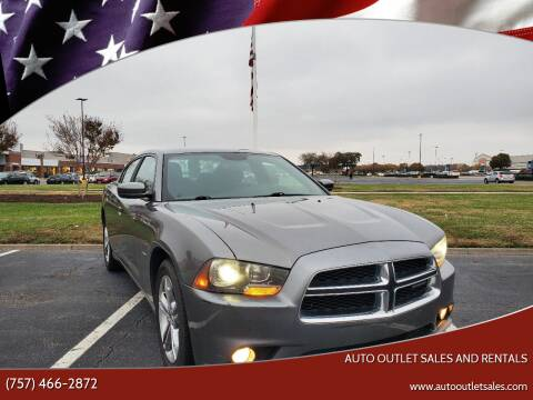 2012 Dodge Charger for sale at Auto Outlet Sales and Rentals in Norfolk VA