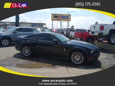 2013 Ford Mustang for sale at Escar Auto in El Paso TX