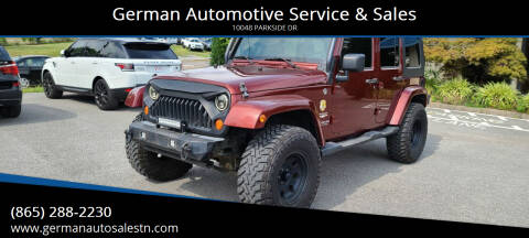 2007 Jeep Wrangler Unlimited for sale at German Automotive Service & Sales in Knoxville TN