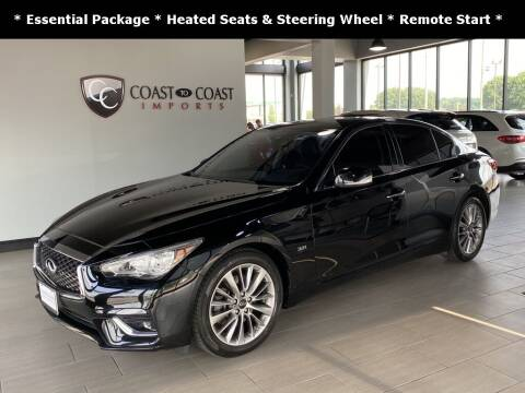 2018 Infiniti Q50 for sale at Coast to Coast Imports in Fishers IN