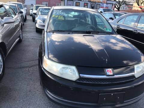 2003 Saturn Ion for sale at Chambers Auto Sales LLC in Trenton NJ
