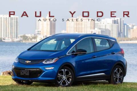 2017 Chevrolet Bolt EV for sale at PAUL YODER AUTO SALES INC in Sarasota FL
