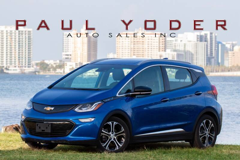 2017 Chevrolet Bolt EV for sale at PAUL YODER AUTO SALES INC in Sarasota FL