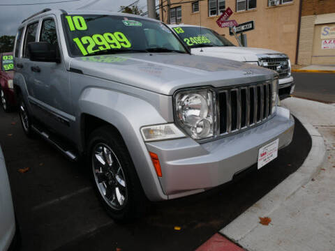2010 Jeep Liberty for sale at M & R Auto Sales INC. in North Plainfield NJ