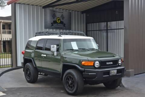 2010 Toyota FJ Cruiser for sale at G MOTORS in Houston TX